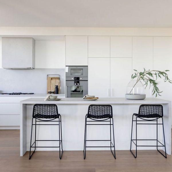 Omnia Penthouse kitchen with Gaggenau appliances