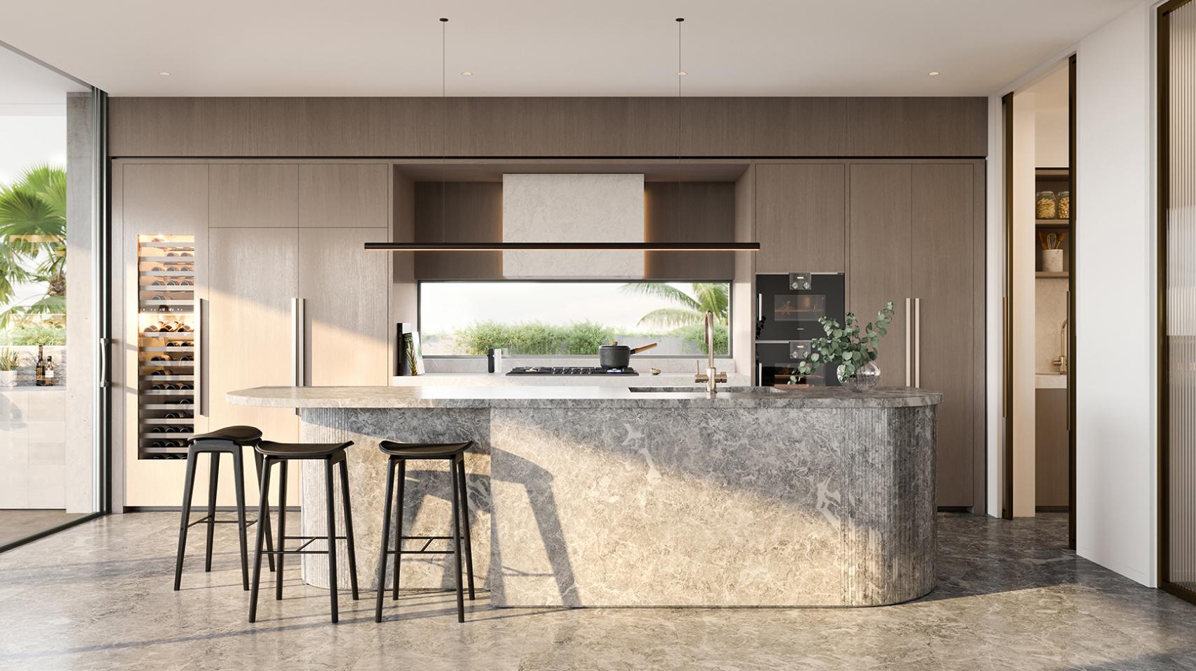 oasis kitchen counter