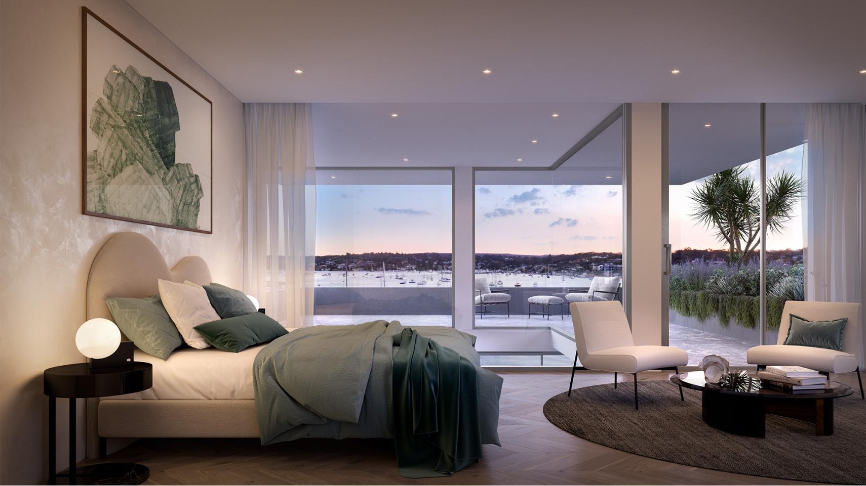 oasis master bedroom