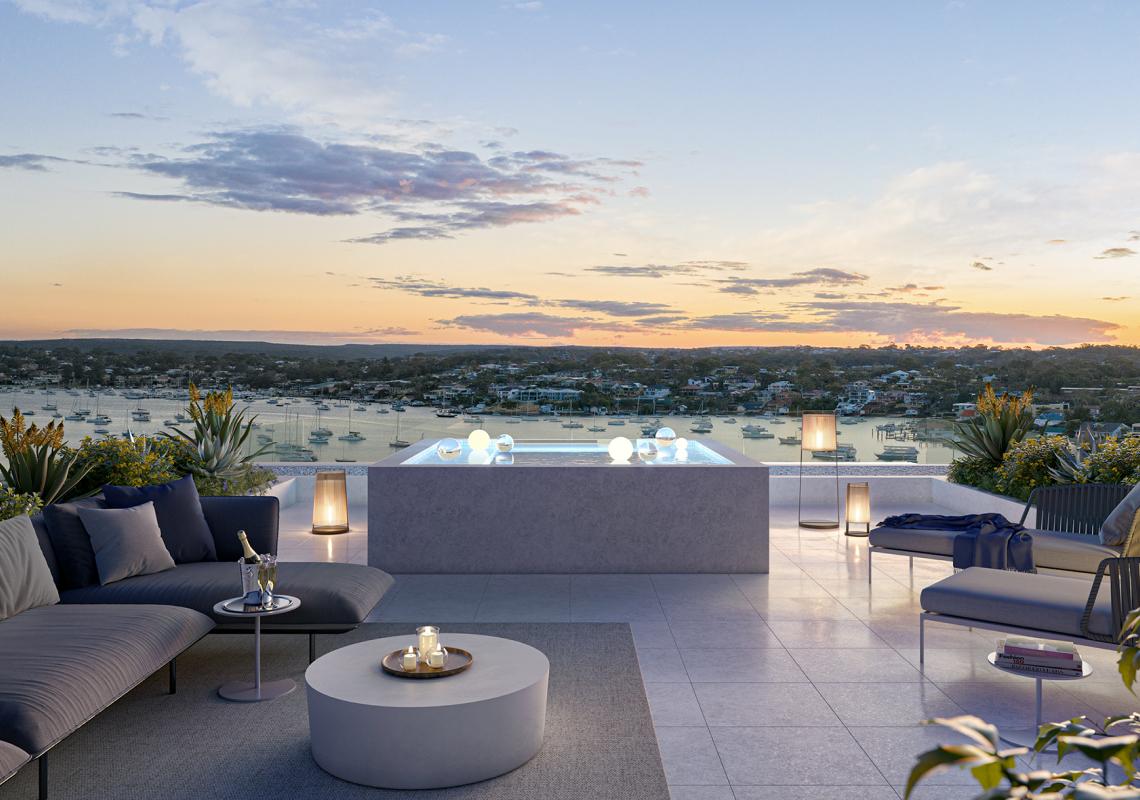 oasis rooftop lounge pool