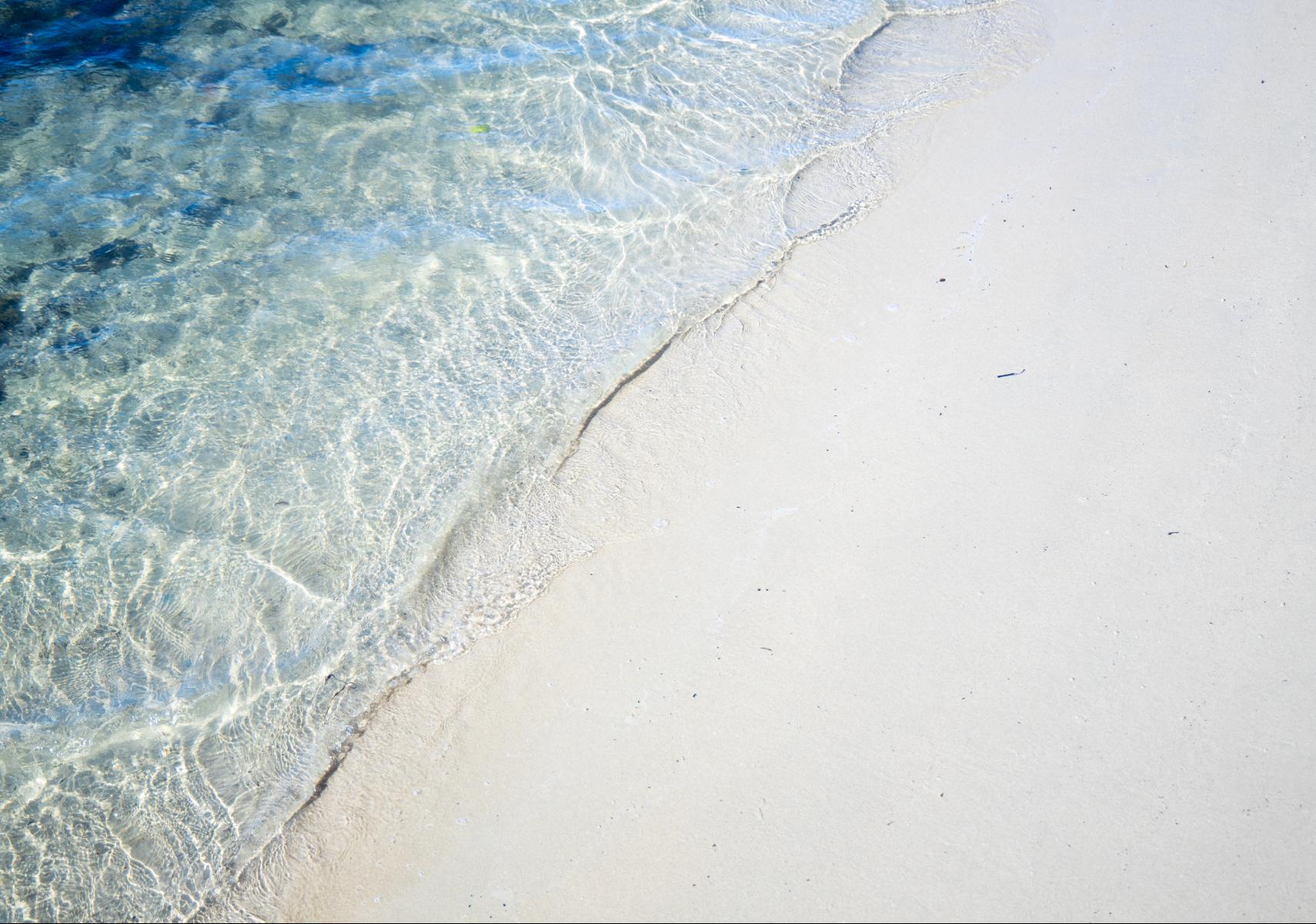 oasis white sand beach