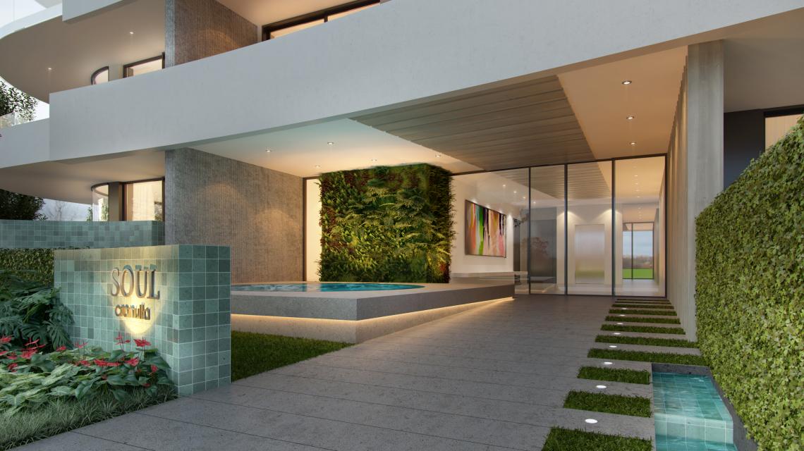 soul geralle entrance lobby design